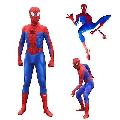 New Era Peter Parker Amazing Spiderman Cosplay Costumes Zentai Suit 3D printed