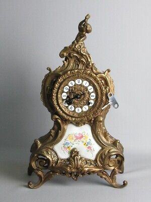 Hermle Fhs Germany Important Pendule Paris en Laiton '900