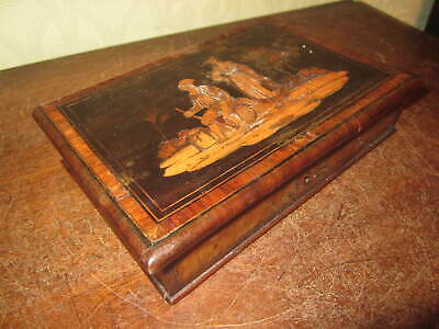 An old Victorian Sorrento box