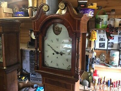antique    Victorian grandfather clock   With a difference