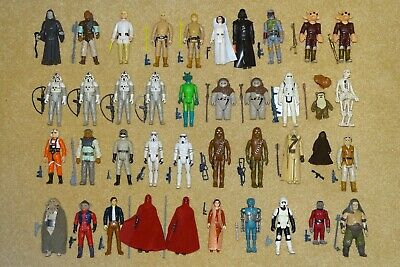 Complete Vintage Star Wars Figures With Replica Weapons (Multiple Choice)