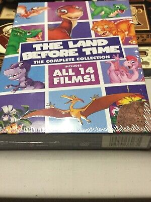 The Land Before Time: The Complete Collection (DVD, 2016, 8-Disc Set)