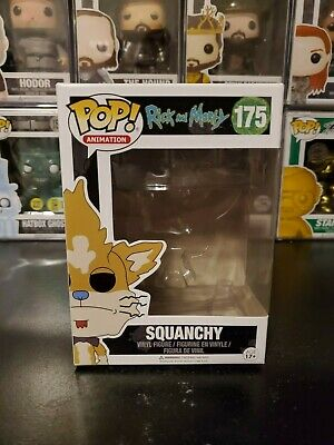 Funko Pop! Animation Rick and Morty Squanchy #175 Box Only No Vinyl Figure