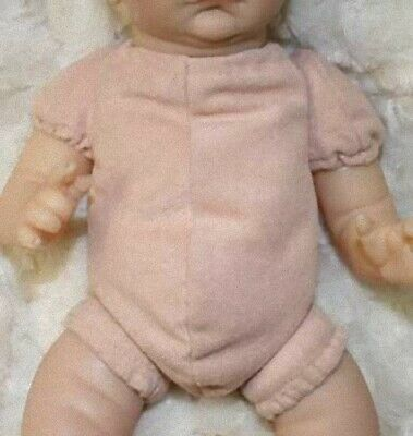 "REBORN DOLL BODY 10"" 3/4 arms full legs (Doe Suede)."