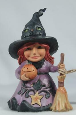 Jim Shore 'Welcome The Magic' Friendly Witch - 2019 #6004331 New In Box