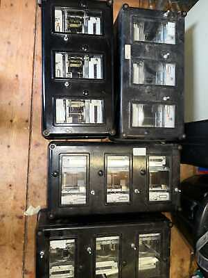 4 off. REYROLLE Electro Mechanical protection relays.  11Kv switch,