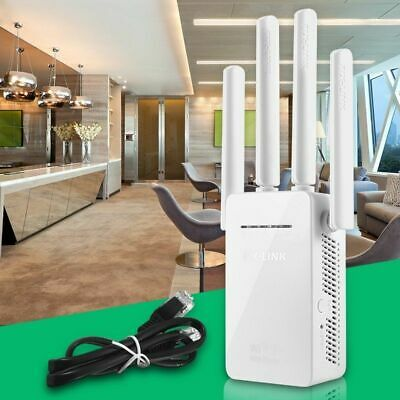 Wifi Extender Repeater Dual-Band Wireless Router Range Signal Booster 300Mbps