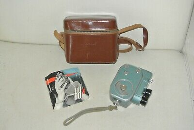 Camera 8mm - Bauer 88-B - Complete Notice Suitcase - Bel Condition Fonctionel