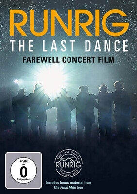 Runrig: The Last Dance - Farewell Concert Film DVD (2019) Runrig cert 12 2