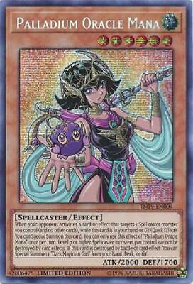 Palladium Oracle Mana - TN19-EN004 - Prismatic Secret Rare Near Mint