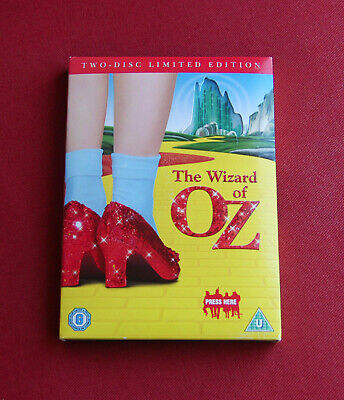 The Wizard Of Oz - 2-Disc Limited Edition Region 2 DVD Set with Musical Slipcase