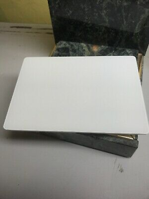 Apple Magic Trackpad White A1535 - MISSING AC ADAPTER USB CONNECTOR (f)