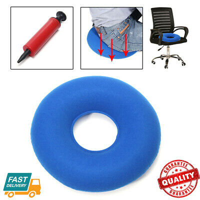 Inflatable Ring Round Chair Cushion Hemorrhoid Medical Donut Air Seat Pad AU