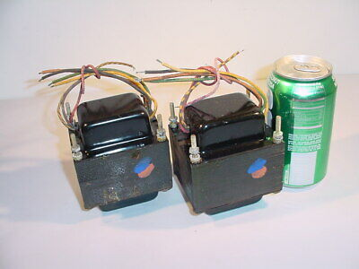 STANCOR AUDIO OUTPUT TRANSFORMER PAIR for 7591 tube amplifier project