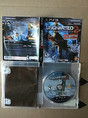 Uncharted 2: Among Thieves (2009) PS3 Playstation 3