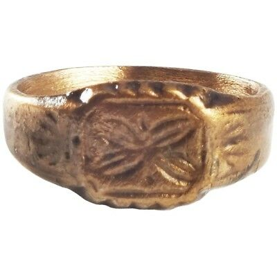 ANCIENT BYZANTINE WOMAN'S RING 8th-12th CENTURY AD