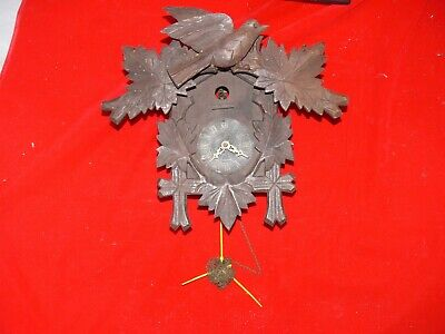 BLACK FOREST  Cuckoo Clock - SPARES OR REPAIRS