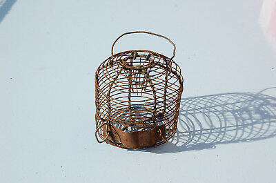 Antique Small Trap in Rodent, Popular Art, Old Métiers