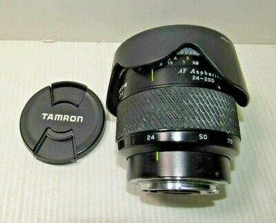 Tokina AT-X 24-200mm f/3.5-5.6 MF SD Aspherical AF Lens For Nikon DSLR Japan