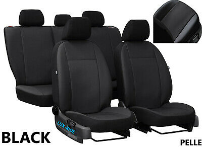 TOYOTA AVENSIS Mk3 SALOON 2015 2016 2017 2018 ECO LEATHER TAILORED SEAT COVERS