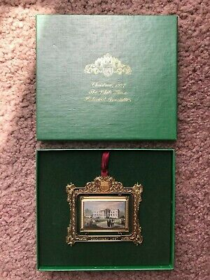 White House Historical Association Collectible Christmas Ornament 1997 w/ Box