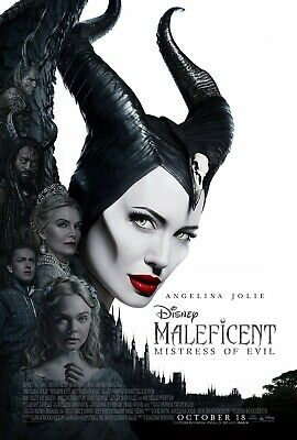 Maleficent: Mistress of Evil Movie Poster  (Multiple Sizes)