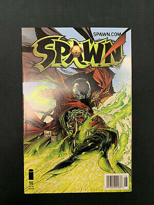 Spawn #99 Greg Capullo Todd McFarlane Image Newsstand Edition 2000 Low Print