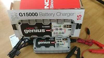 Noco Genius G15000 12//24V 15000Ma Battery Charger
