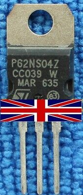 STP62NS04Z P62NS04Z TO-220 Transistor from ST Microelectronics