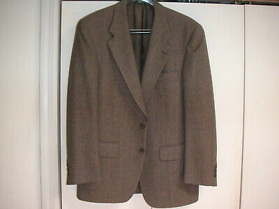 Mens Suit- Sport Jacket - Halston for Todays Man - Size 42R – Brown
