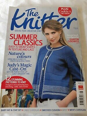 The Knitter Issue 33 Summer Classics Judy's Magic Cast-On 12 Patterns