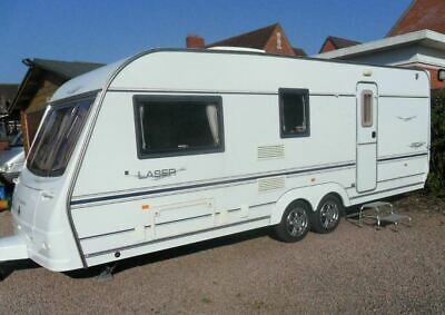 2005 Coachman 4 berth twin axle - A/C + awning - SPRING SALE - toilet + shower