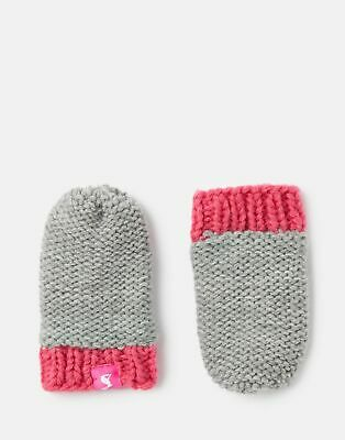 Joules  207247 Knitted Mittens in GREY MARL