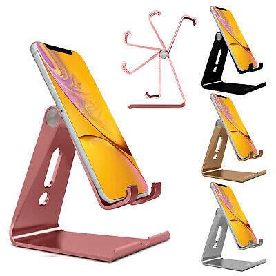 Adjustable Foldable Metal Stand Phone Holder For Allview E3 Sign