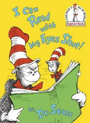 NEW - I Can Read With My Eyes Shut! (Beginner Books) by Dr. Seuss