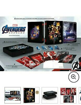 Avengers Endgame (Bluray 3D) Limited Collectors Edition Steelbook PRE ORDER