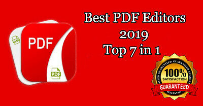 PDF Editor Creator Converter PDF To Word Software Top 7in1 For Windows NEW 2019
