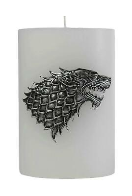 GAME OF THRONES - House Stark Scupted Sigil Candle - 15x10 cm