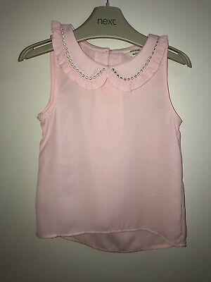 River Island Mini Girls Blouse Pink 12-18 Month