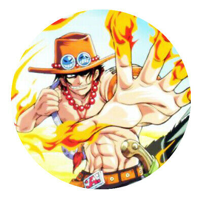 "One Piece ""Ace"" Button"
