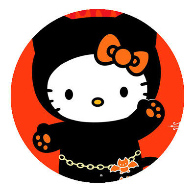 Hello Kitty Motiv 10 Button