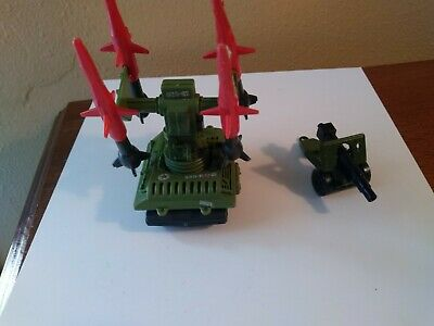 GI Joe 1983 PAC//RAT Missile Launcher Missile Top