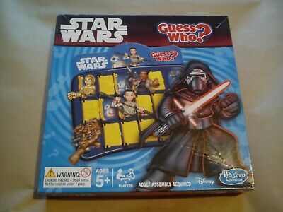 Guess Who Star Wars By Hasbro Gaming Classic Kids Game Family Darth Vader Toys