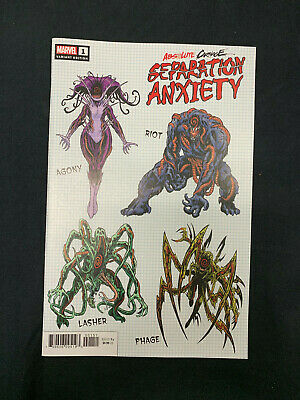 Absolute Carnage: Separation Anxiety #1 1:10 Variant Cover Marvel Comics Venom