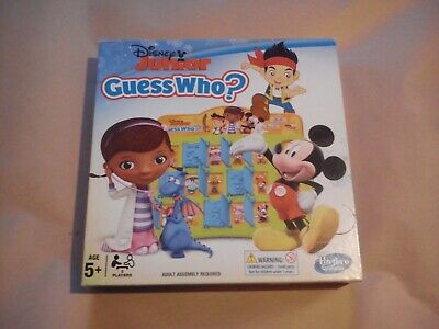 Disney Junior Guess Who By Hasbro Complete With Rules Kids Mickey Mcstuffin Toys