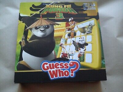 Guess Who Kung Fu Panda 3 Edition By Hasbro Complete With Rules Kids Game Games