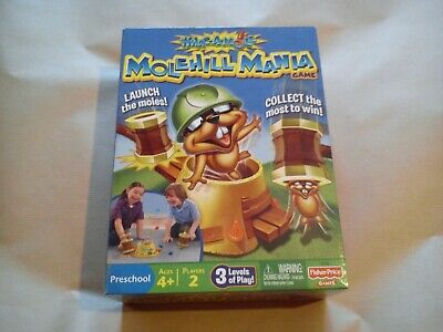 Molehill Mania By Fisher Price Fun Kids Game Whac A Mole Childrens Games Family