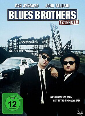 The Blues Brothers - Extended Mediabook Edition # 2-BLU-RAY-NEU
