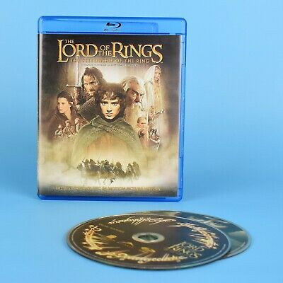 Lord of The Rings - The Fellowship of the Ring Blu-Ray - 2-Discs - Bilingual
