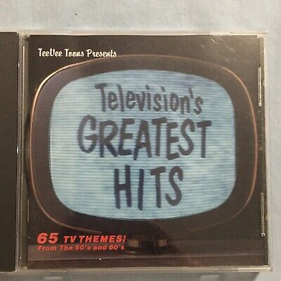 Television's Greatest Hits 65 TV Themes! From The 50's and 60's (CD)